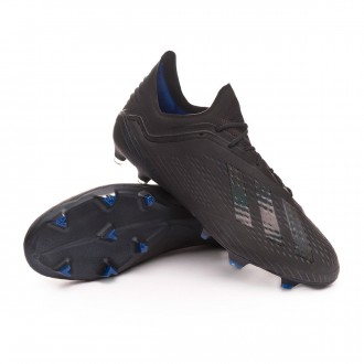 low priced 8e060 5663d Boot adidas X 18.1 FG Core black-Bold blue