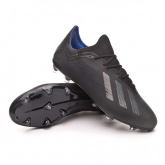 Boot  adidas X 18.2 FG Core black-Bold blue