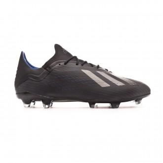 Bota adidas X 18.2 FG Core black-Bold blue