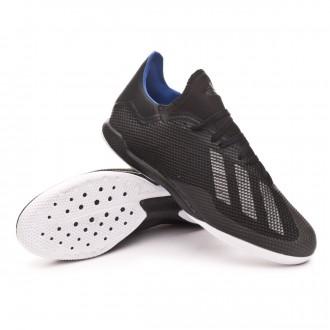 Sapatilha de Futsal  adidas X 18.3 IN Core black-Bold blue