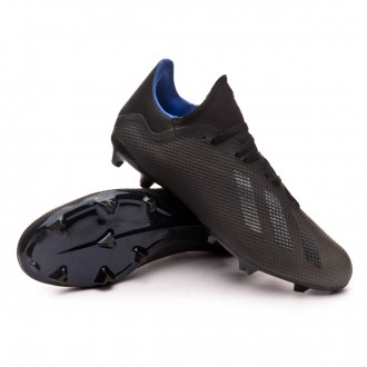 Boot  adidas X 18.3 FG Core black-Bold blue
