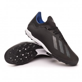 Zapatilla  adidas X 18.3 Turf Core black-Bold blue