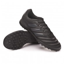 Zapatilla Copa Tango 19.3 Turf Niño Core black-Grey six