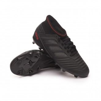 Bota  adidas Predator 19.3 FG Niño Core black-Active red