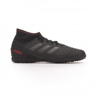 Zapatilla  adidas Predator Tango 19.3 Turf Niño Core black-Active red