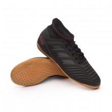 Zapatilla Predator Tango 19.3 IN Niño Core black-Active red