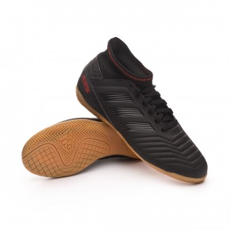 Zapatilla  adidas Predator 19.3 IN Niño Core black-Active red