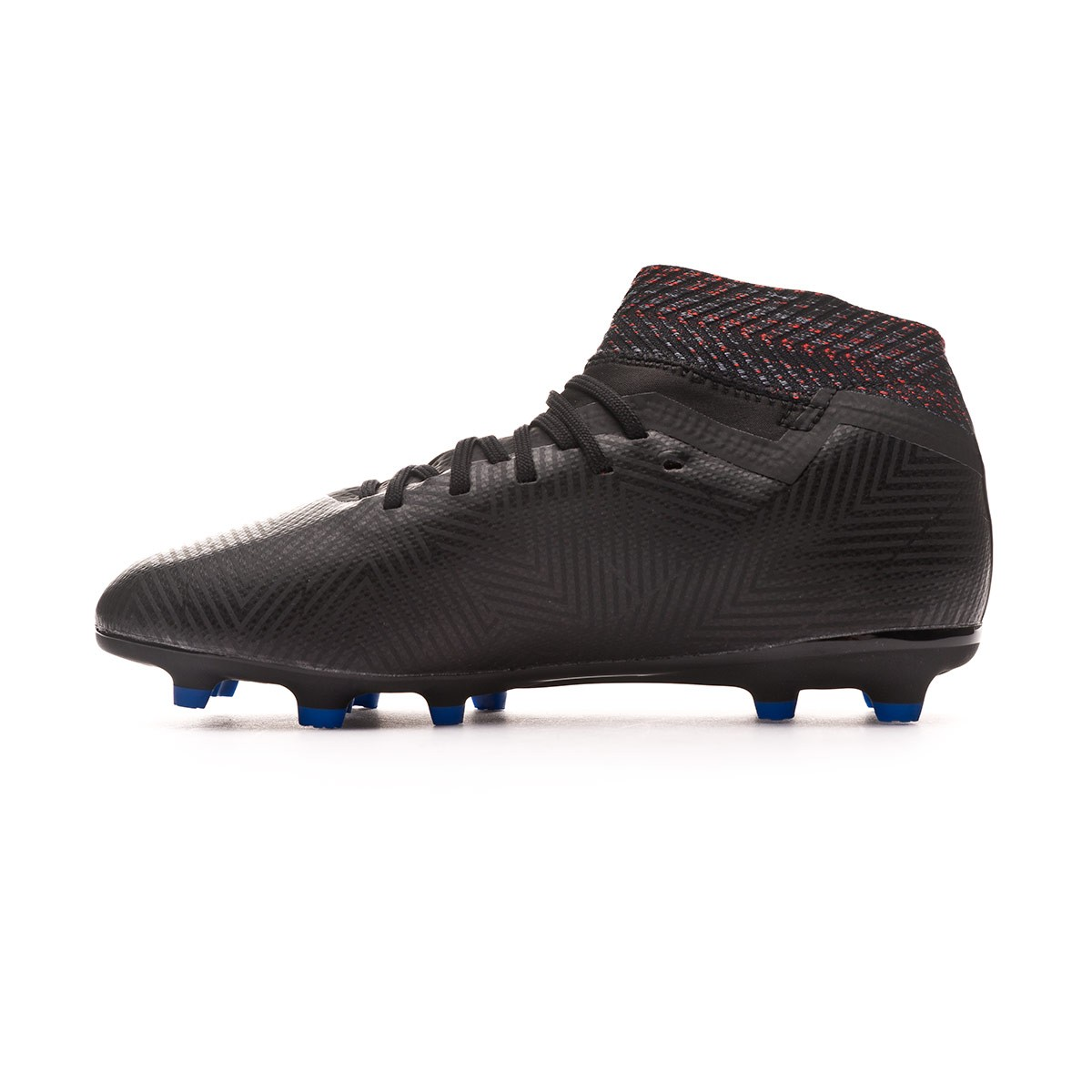 8d7910ea1 Football Boots adidas Kids Nemeziz 18.3 FG Core black-Football blue-Active  red - Football store Fútbol Emotion