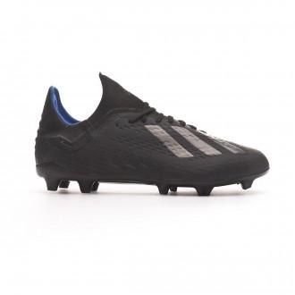 Football Boots  adidas Kids X 18.1 FG Core black-Bold blue