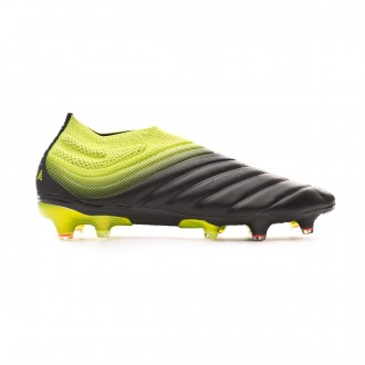 Football Boots  adidas Copa 19+ FG Core black-Solar yellow-Core black