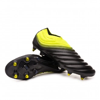 Chuteira  adidas Copa 19+ SG Core black-Solar yellow-Core black