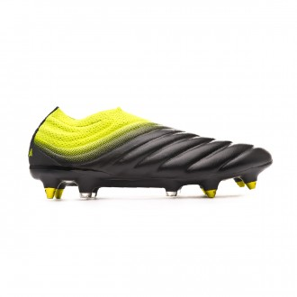 Chaussure de foot  adidas Copa 19+ SG Core black-Solar yellow-Core black