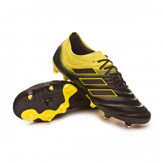 wholesale dealer cde1e d1038 Boot adidas Copa 19.1 FG Core black-Solar yellow-Core black