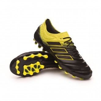 Boot  adidas Copa 19.1 AG Core black-Solar yellow-Core black