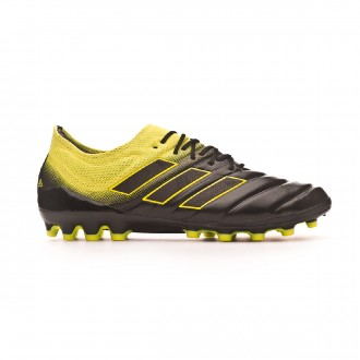Chaussure de foot  adidas Copa 19.1 AG Core black-Solar yellow-Core black