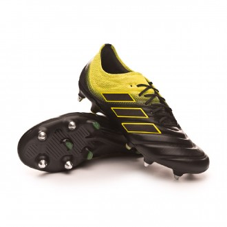 Chuteira  adidas Copa 19.1 SG Core black-Solar yellow-Core black