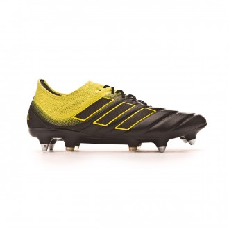 Chaussure de foot  adidas Copa 19.1 SG Core black-Solar yellow-Core black