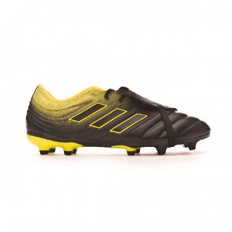 Chaussure de foot  adidas Copa Gloro 19.2 FG Core black-Solar yellow-Core black