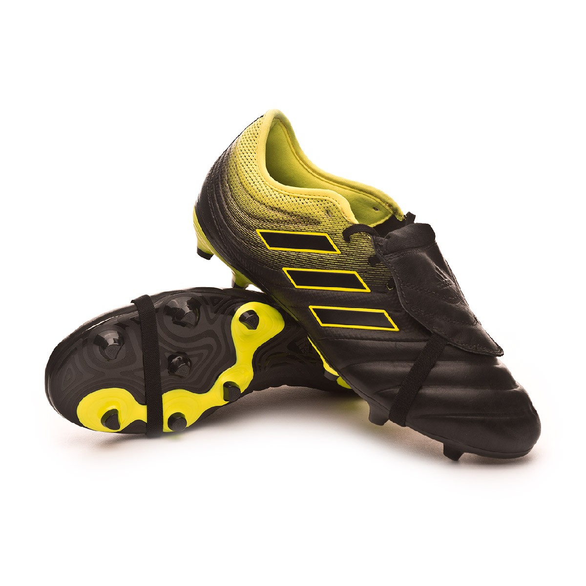 fbb0e0d233c8b Chuteira adidas Copa Gloro 19.2 FG Core black-Solar yellow-Core black -  Loja de futebol Fútbol Emotion