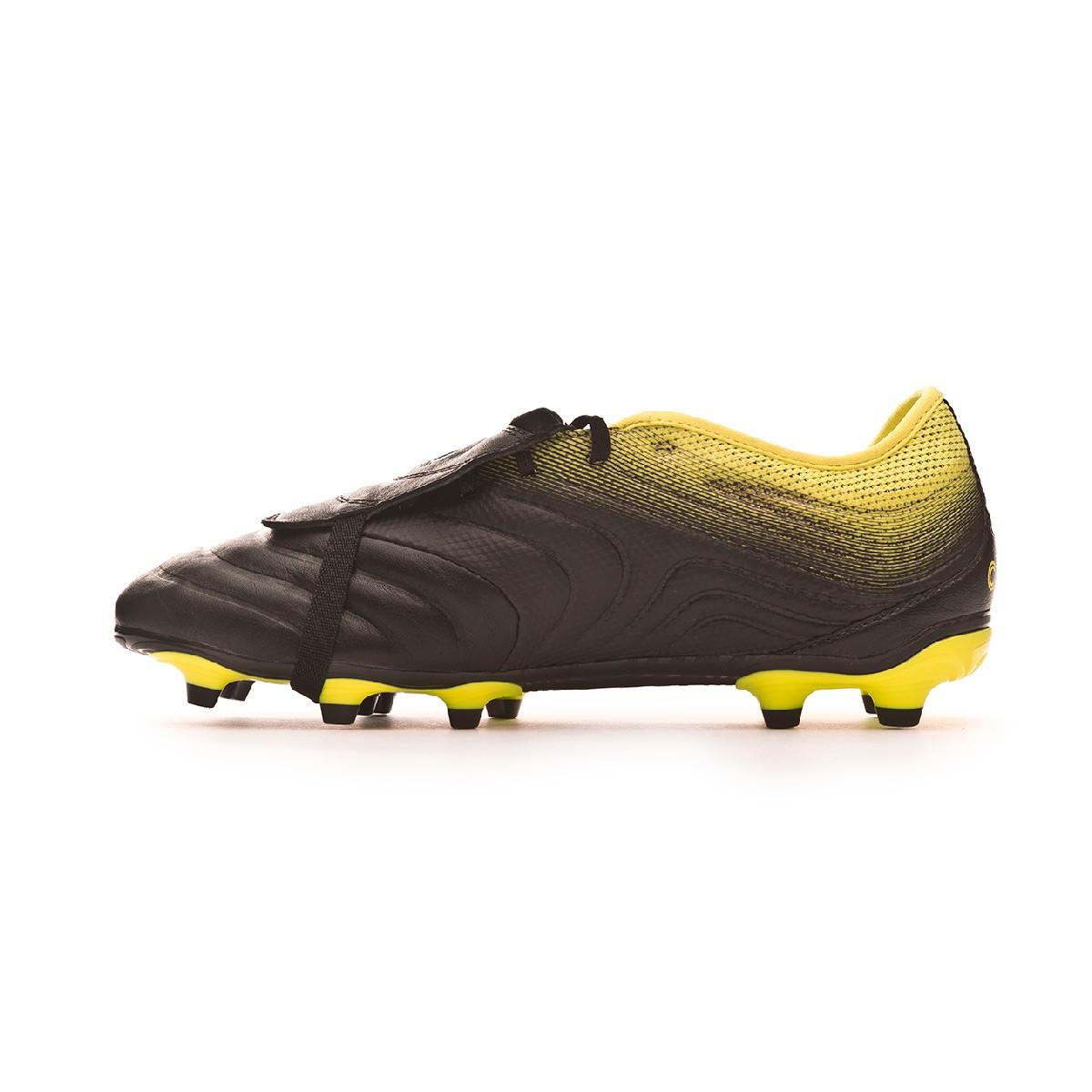 productos quimicos civilización Perezoso  Football Boots adidas Copa Gloro 19.2 FG Core black-Solar yellow-Core black  - Football store Fútbol Emotion