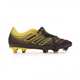 Chaussure de foot  adidas Copa Gloro 19.2 SG Core black-Solar yellow-Core black