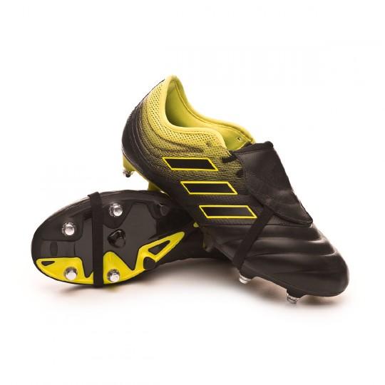 Chaussure de foot adidas Copa Gloro 19.2 SG Core black Solar yellow Core black