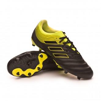 Chuteira  adidas Copa 19.3 FG Core black-Solar yellow-Core black