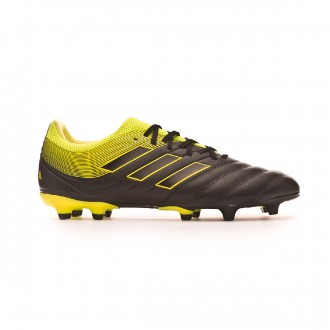 Chaussure de foot  adidas Copa 19.3 FG Core black-Solar yellow-Core black