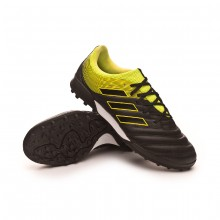 Sapatilhas Copa Tango 19.3 Turf Core black-Solar yellow-Core black