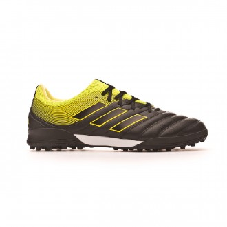 Chaussure de football  adidas Copa Tango 19.3 Turf Core black-Solar yellow-Core black