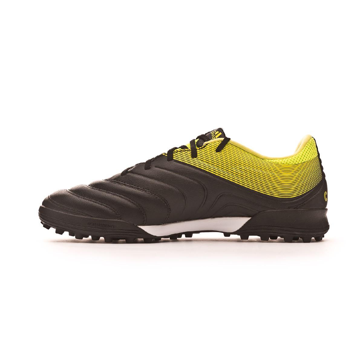 9776c3ee7 Football Boot adidas Copa Tango 19.3 Turf Core black-Solar yellow-Core black  - Tienda de fútbol Fútbol Emotion