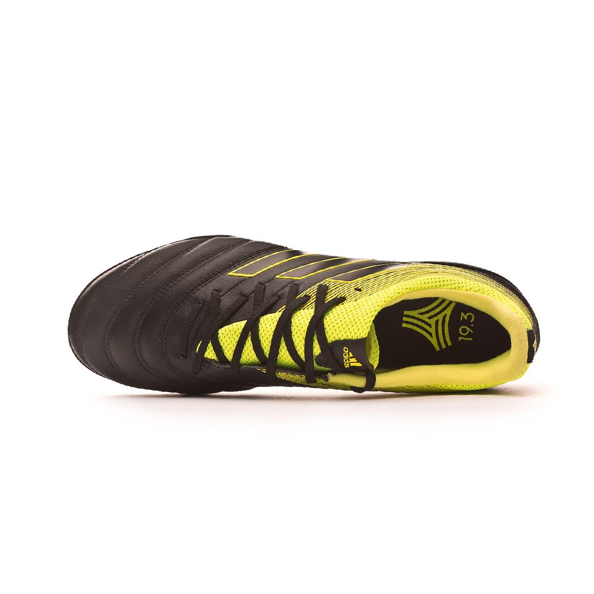 46f9a1b72b573 Tenis adidas Copa Tango 19.3 Turf Core black-Solar yellow-Core black -  Tienda de fútbol Fútbol Emotion
