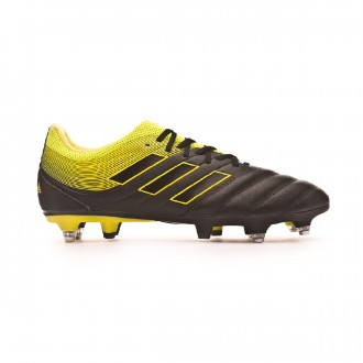 Chaussure de foot  adidas Copa 19.3 SG Core black-Solar yellow-Core black