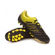 Bota Copa 19.3 AG Core black-Solar yellow-Core black