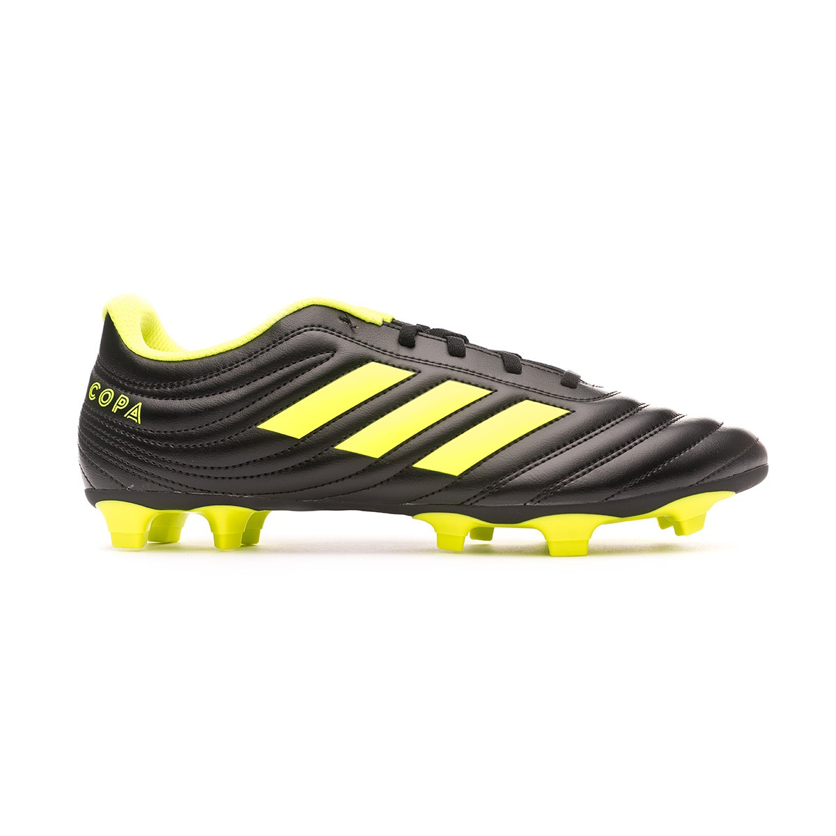 d7c1c82514c Football Boots adidas Copa 19.4 FG Core black-Solar yellow-Core black -  Football store Fútbol Emotion