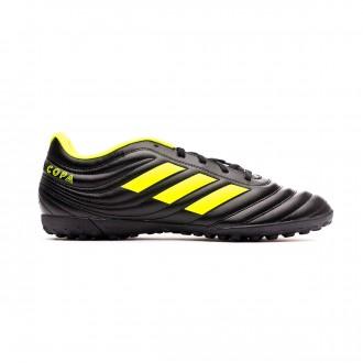 Sapatilhas adidas Copa 19.4 Turf Core black-Solar yellow-Core black