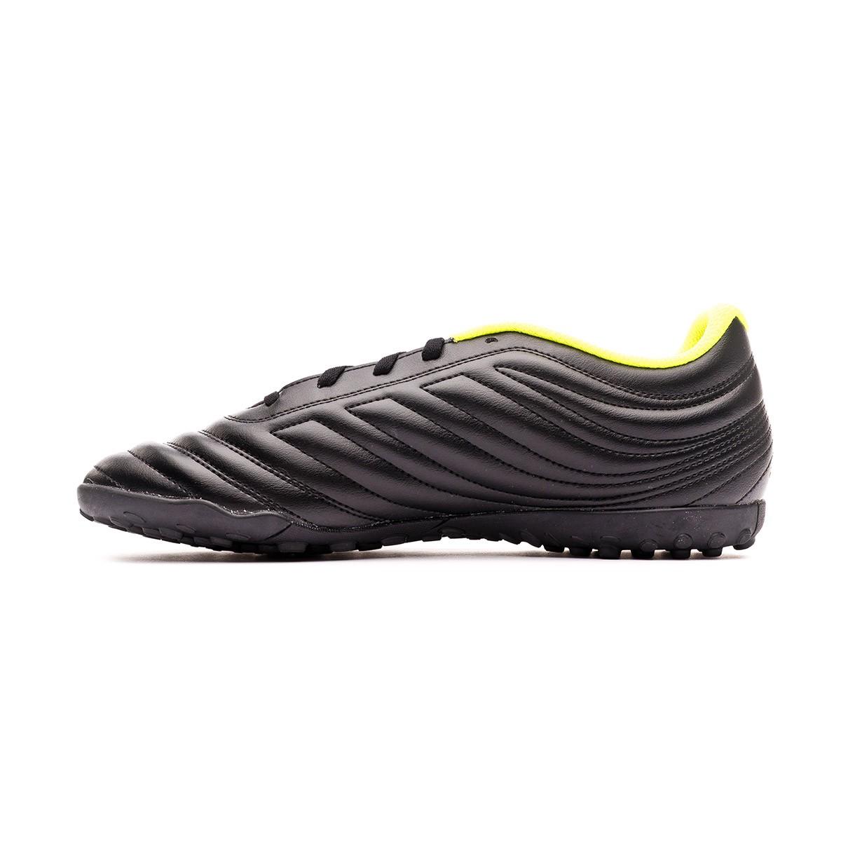 0cfd51c3b2d Football Boot adidas Copa 19.4 Turf Core black-Solar yellow-Core black -  Football store Fútbol Emotion