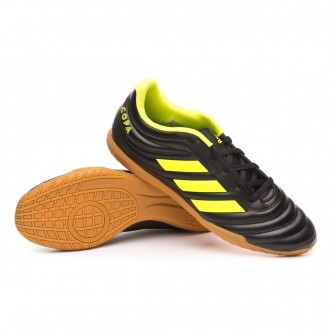 outlet store a1e98 b98dc Futsal Boot adidas Copa 19.4 IN Core black-Solar yellow-Core black