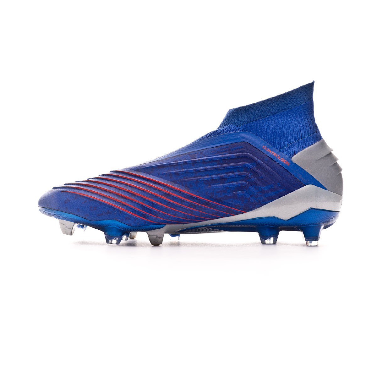 innovative design 6b452 0484b Boot adidas Predator 19+ FG Bold blue-Silver metallic-Active red - Football  store Fútbol Emotion
