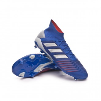 Predator 19.1 FG Bold blue-Silver metallic-Football blue