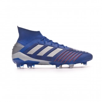 Bota  adidas Predator 19.1 FG Bold blue-Silver metallic-Football blue