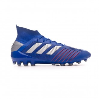 Bota  adidas Predator 19.1 AG Bold blue-Silver metallic-Football blue