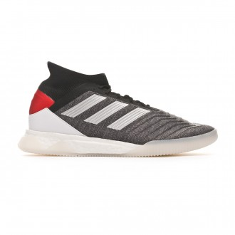 Baskets  adidas Predator Tango 19.1 TR Dark grey heather-Matte silver-Active red