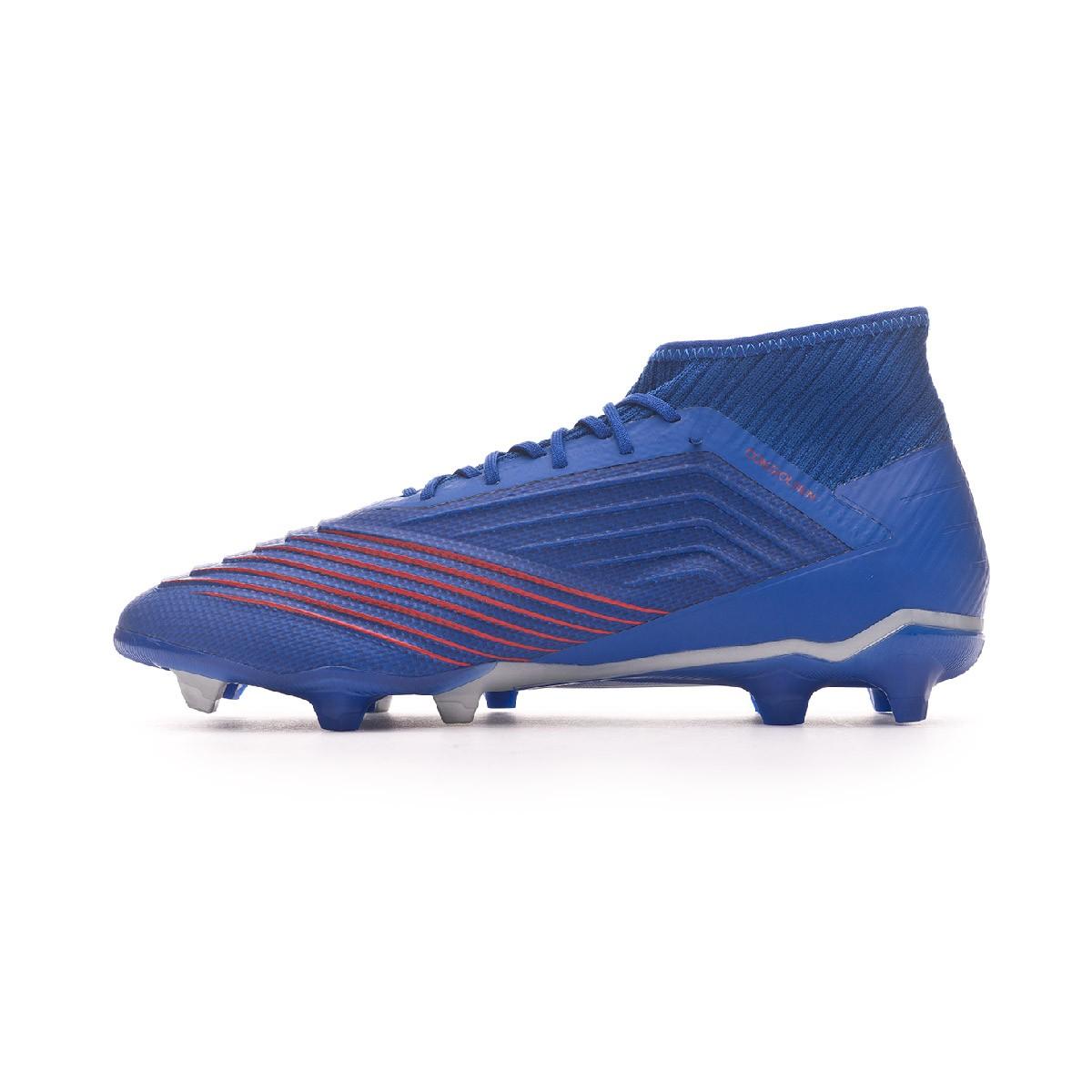 Blue Metallic Fg Football Bota 2 Bold 19 Silver Predator PZuTXiOkw