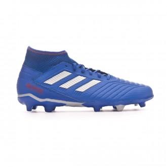 Bota  adidas Predator 19.3 FG Bold blue-Silver metallic-Active red