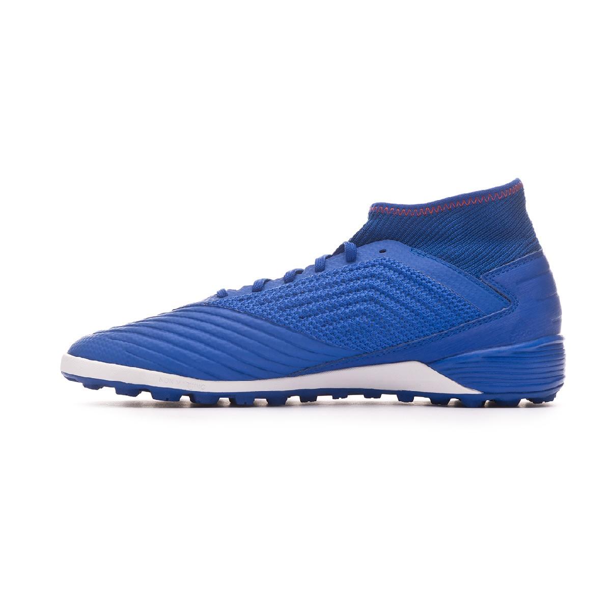 a7d397c20 Football Boot adidas Predator Tango 19.3 Turf Bold blue-Silver metallic-Active  red - Tienda de fútbol Fútbol Emotion