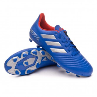 Scarpe   adidas Predator 19.4 FxG Bold blue-Silver metallic-Active red
