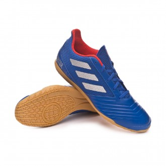 Zapatilla  adidas Predator Tango 19.4 IN Sala Bold blue-Silver metallic-Active red