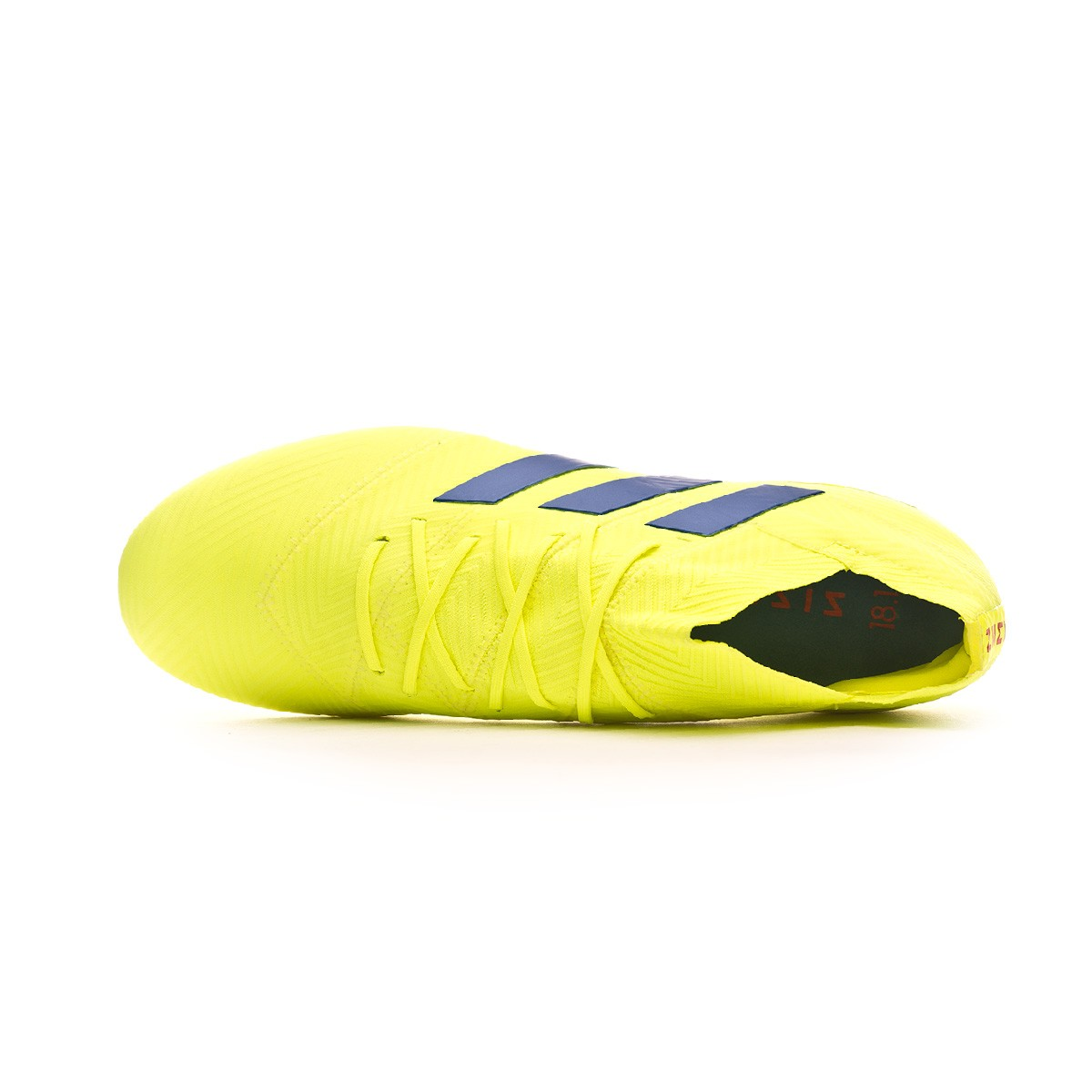 95743b81f862 Football Boots adidas Nemeziz 18.1 FG Solar yellow-Football blue-Active red  - Football store Fútbol Emotion