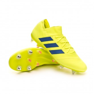 Chuteira  adidas Nemeziz 18.1 SG Solar yellow-Football blue-Active red